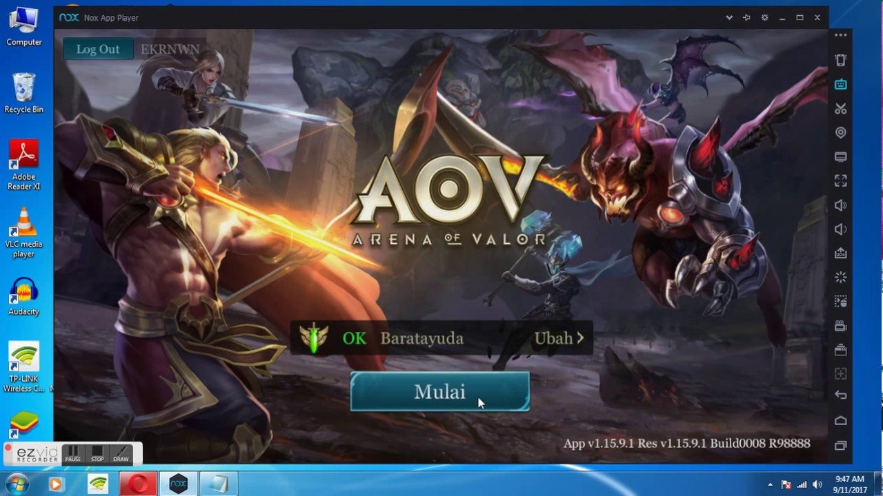 Full Tutorial Cara Bermain AOV, ML, di PC - YouTube