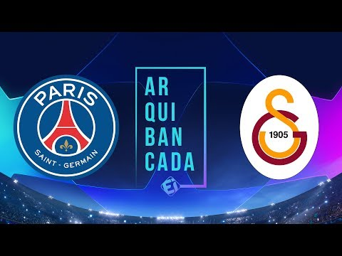 PSG X GALATASARAY (narração AO VIVO) - Champions League