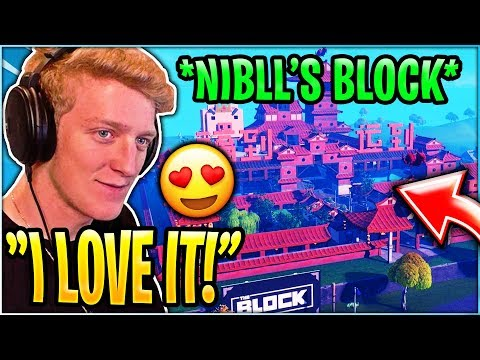 "Tfue reacts to *NEW* Location ""Nibll's Block""! Chinese New Year!"