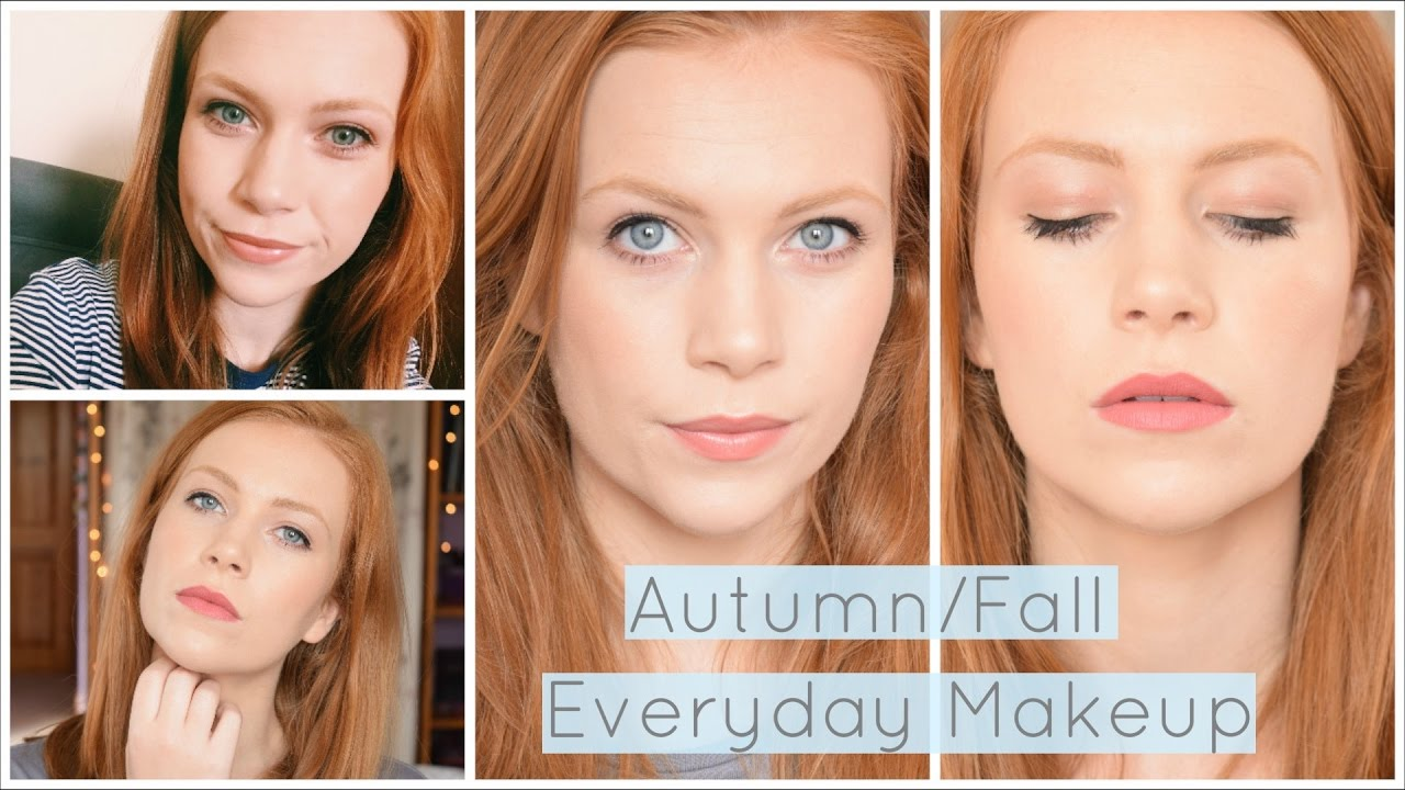 Makeup For Redheads Autumn Fall Everyday Makeup Routine