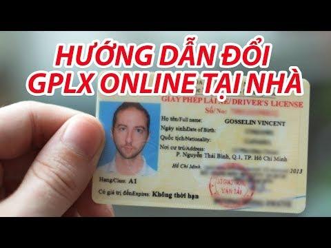 Cách đổi GPLX, bằng lái xe online bằng smartphone đơn giản