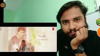 Dear Comrade Telugu Nee Neeli Kannullona Lyrical Song   Vijay Deverakonda   Rashmika   Reaction