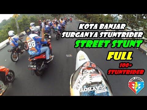 WHEELIE SEPANJANG KOTA BANJAR FULL | LONG WHEELIE STREET STUNT FREESTYLE | FreestyleVLOG Indonesia