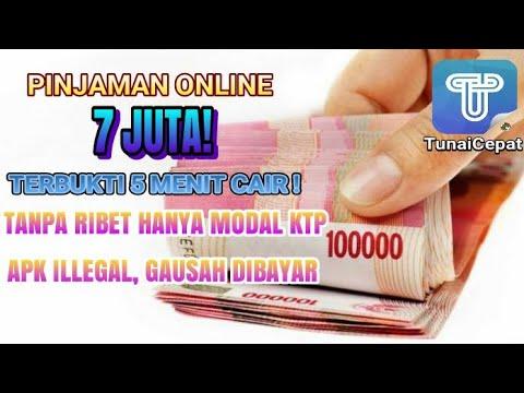 Pinjaman Uang Online Langsung Cair 7 Juta Hanya 5 Menit Hanya Modal Ktp Tanpa Jaminan Bisa Galbay Youtube