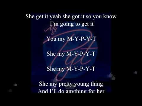 Wale - PYT  *Lyrics* (Slowed Down)