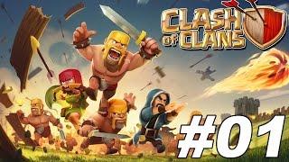 Gameplay|| Clash Of Clans| A Nagy Támadások #1 :D