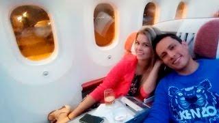 Brunella Horna y Renzo Costa se escapan a Las Vegas