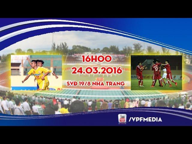 U19 Hà Nội T&T vs U19 PVF