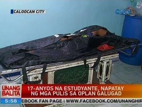 UB: 17-anyos na estudyante, napatay ng mga pulis sa Oplan Galugad