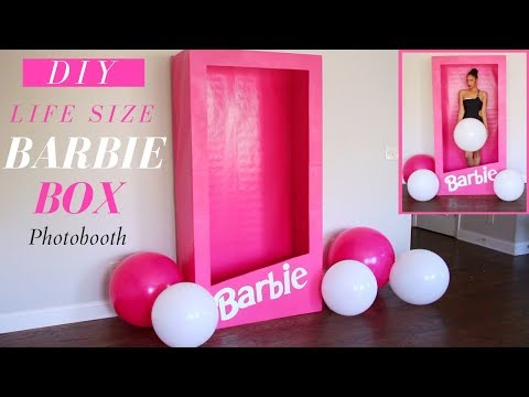 Barbie Box DIY | Dollar Tree Barbie Box DIY Tutorial