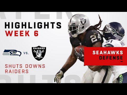 Seahawks Defense Shuts Down Raiders