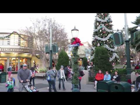 Disney California Adventure Park - Tram Ride