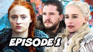 Game Of Thrones Season 8 Episode 1 Scene Easter Eggs and Trailer References Breakdown