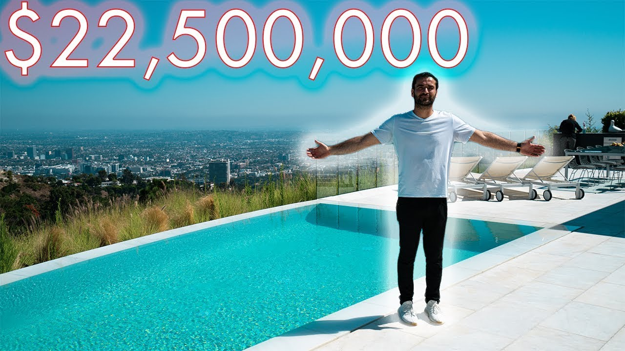 What $22.5 Million Dollar Buys You in Los Angeles     Beverly Hills Mansion Tour