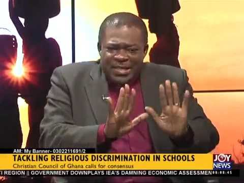 Tackling Religious Discrimination in schools - My banner (23-2-15)