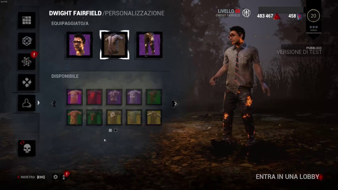 Dead by daylight how to unlook the legacy skin! Hex Editor Coop-Land -  1 9 3 - 2018 - ITA