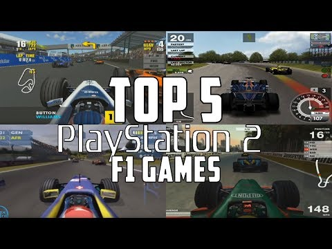 Top 5 Greatest Formula 1 Games For PS2