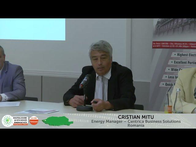 Cristian Mîțu Centrica Business Solutions Digitalizare și Eficiență energetică – Timișoara