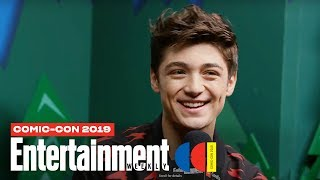 'Shazam!' Star Asher Angel Joins Us LIVE | SDCC 2019 | Entertainment Weekly