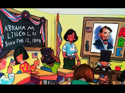 Biography The Story of Abraham Lincoln for Kids: story of the American president for children