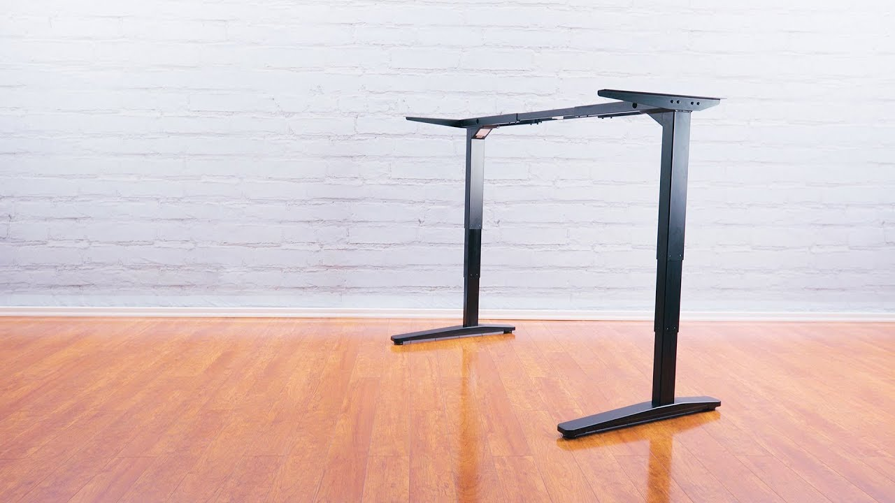 Height Adjustable Standing Desk Frames by UPLIFT Desk - YouTube