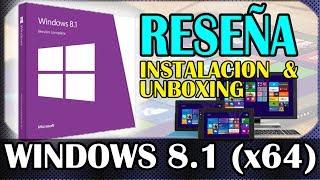 Windows 8.1 - Instalación y Reseña en ESPAÑOL Latinoamérica