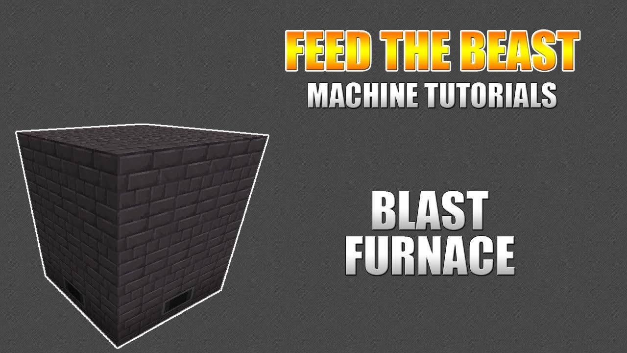 Feed The Beast :: Machine Tutorials :: Blast Furnace - YouTube