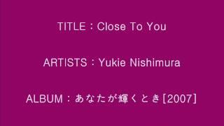 Close To You - Yukie Nishimura_Instrumental