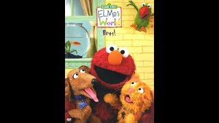 Elmo's World: Pets!  2006 Dvd