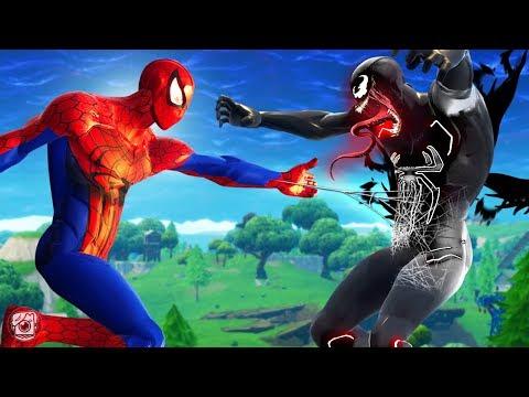 SPIDERMAN VS VENOM!?! - A Fortnite Short Film