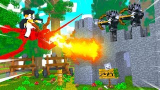 Minecraft Dragons - SURVIVING A WORLD OF DRAGONS!