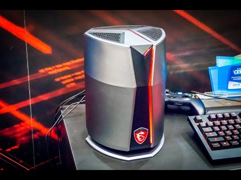 Test du PC MSI Vortex (G65), le Mini PC Gamer ultra puissant ! (SLI GTX)