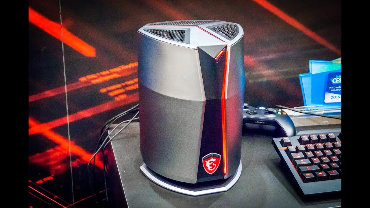test du pc msi vortex g65 le mini pc gamer ultra. Black Bedroom Furniture Sets. Home Design Ideas