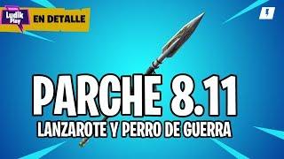 PARK 8.11: LANZAROTE AND JONESY WAR DOG ? FORTNITE SAVE THE WORLD SPANISH GUIDE