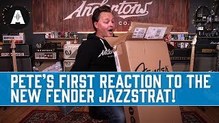 Unboxing The Fender Parallel Universe Ii Jazz Strat! - Two Incredible Guitars In One...