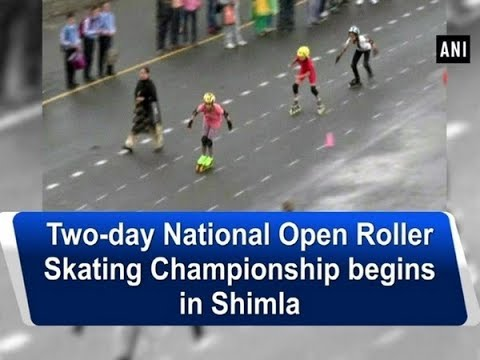 Two-day National Open Roller Skating Championship begins in Shimla - Himachal Pradesh News