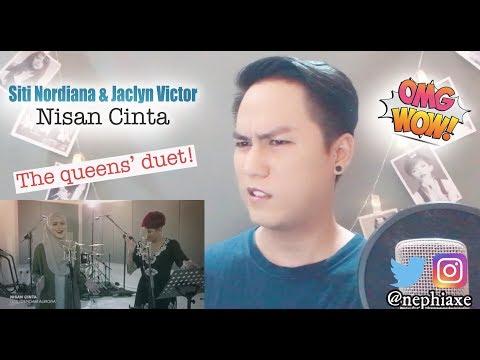 Siti Nordiana & Jaclyn Victor - Nisan Cinta (OST Dendam Aurora) | REACTION