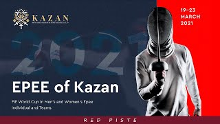 Kazan 2021 Epee Team World Cup - Piste Red