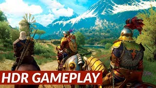Witcher 3: Blood and Wine - HDR gameplay [PS4 Pro]