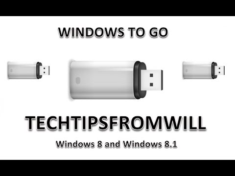 Creating a Windows To Go Workspace on Windows 8 and Windows 8.1