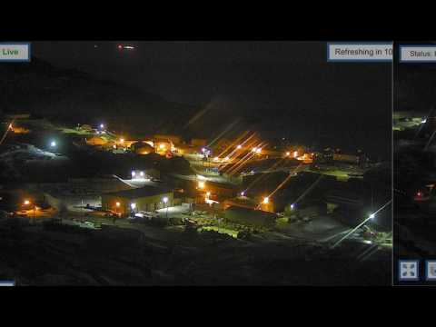 McMurdo Station Antarctica UFO on 03/28/2017
