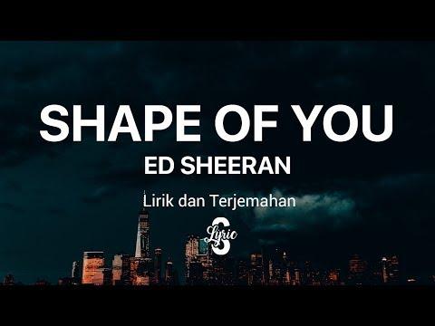 Lyric/lirik Shape Of You - Ed Sheeran ( Cover By Jonah Baker ) Terjemahan