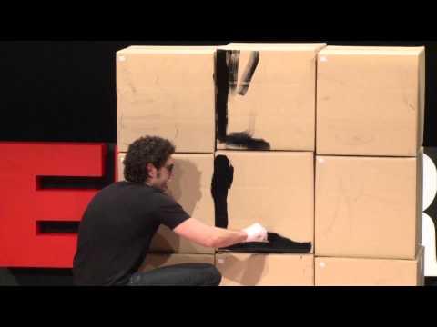 El juego como terapia: Mónica Esteban y El Hombre de Negro at TEDxRetiro