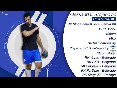 Best of Aleksandar Stojanović - Right Back - RK Sloga ZmartForce - Handball - Season 2017/18
