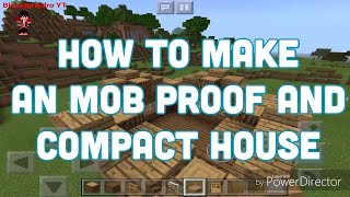 MINECRAFT: HOW TO MAKE A EASY COMPACT HOUSE