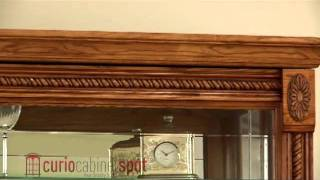 Pulaski Model 20484 Curio Cabinet