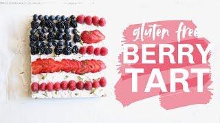 Gluten Free Summer Berry Tart