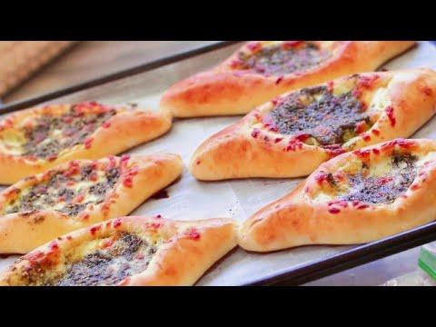 فطائر الجبنة والزعتر | Cheese & Zaatar Fatayer