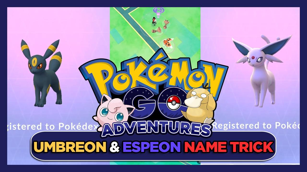 how to find espeon pokemon go