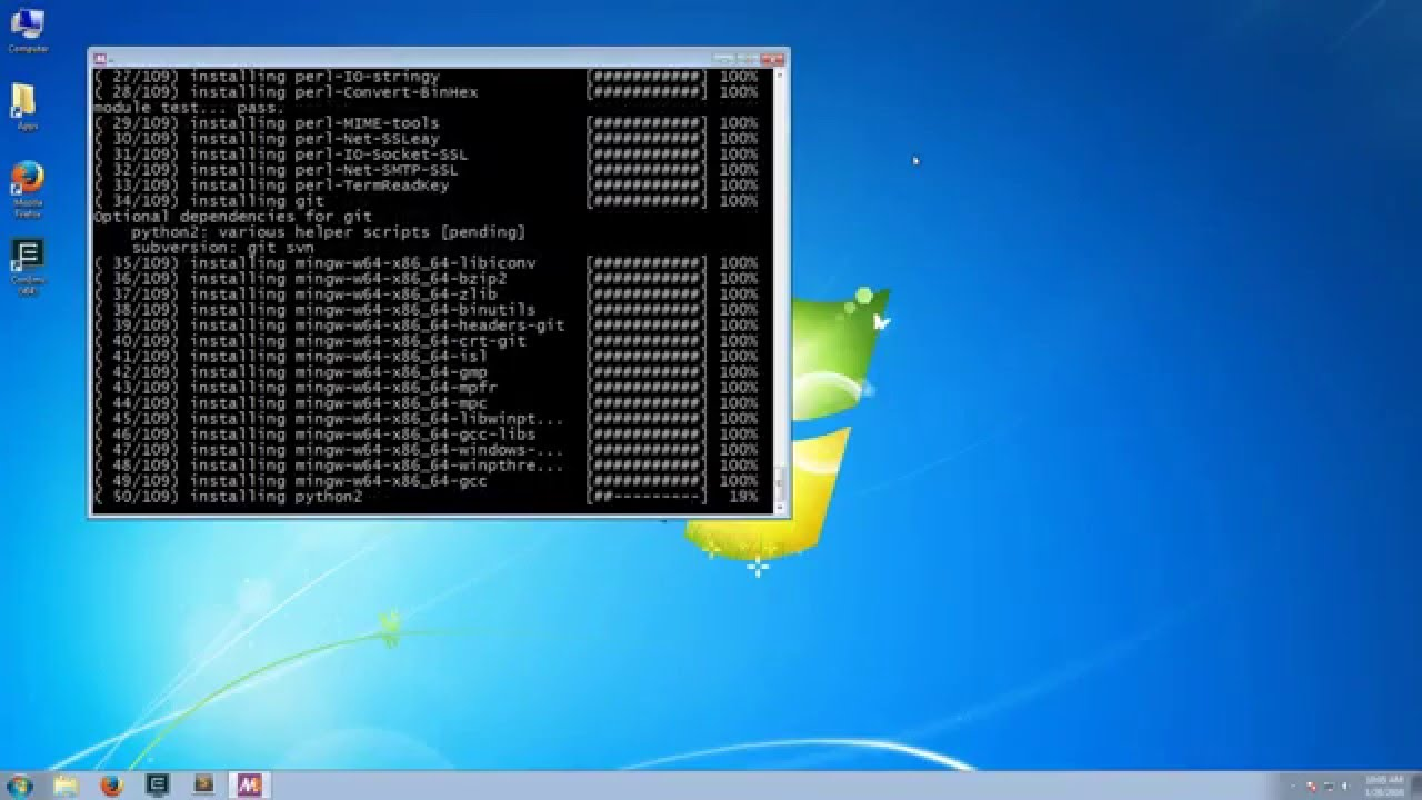 How to Install MSYS2 with MinGW-w64
